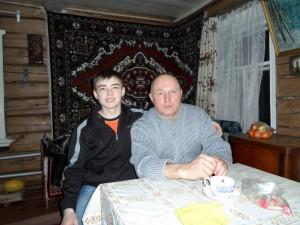 Альмер Нафиков с сыном Ильшатом
